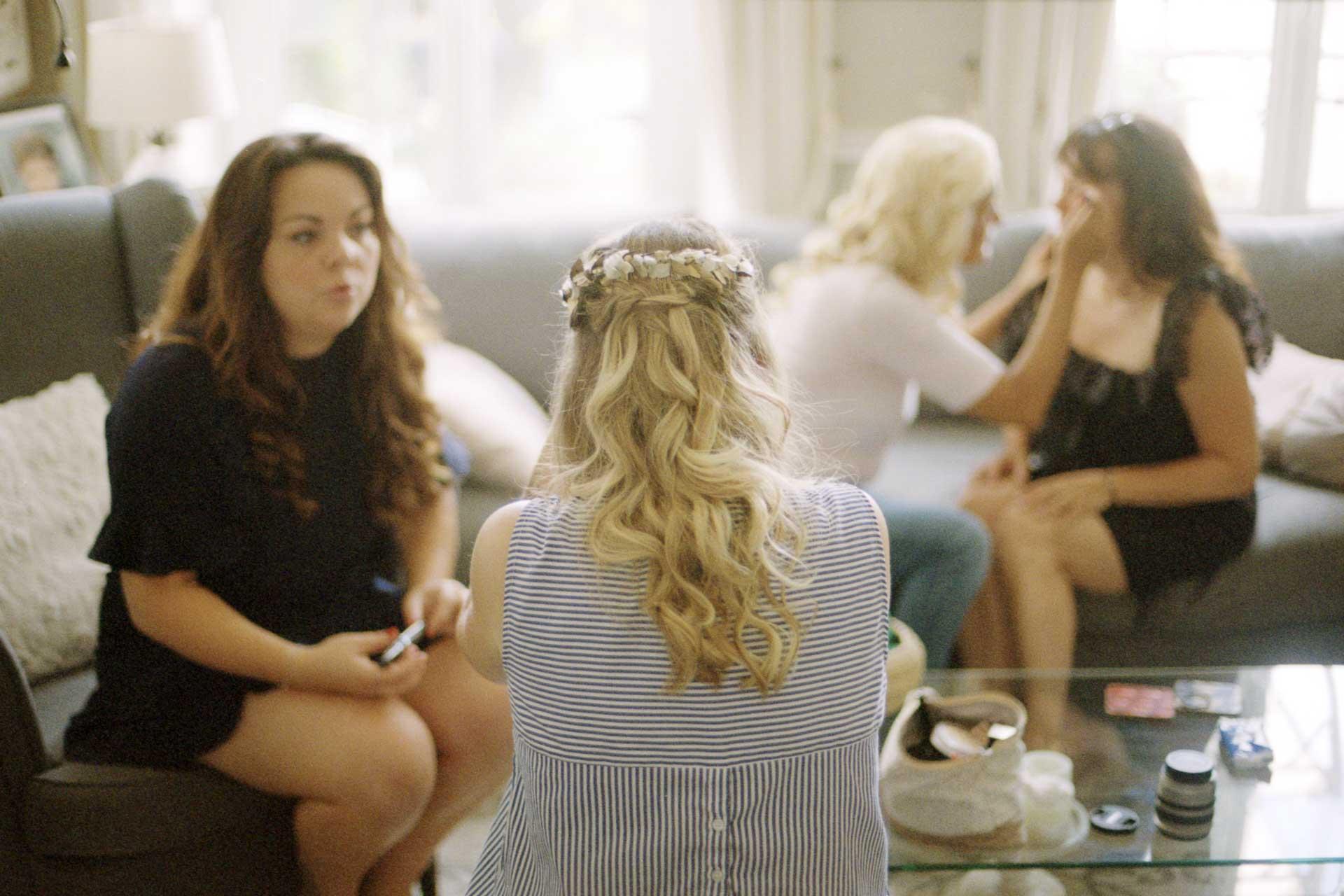 mariée coiffure photo