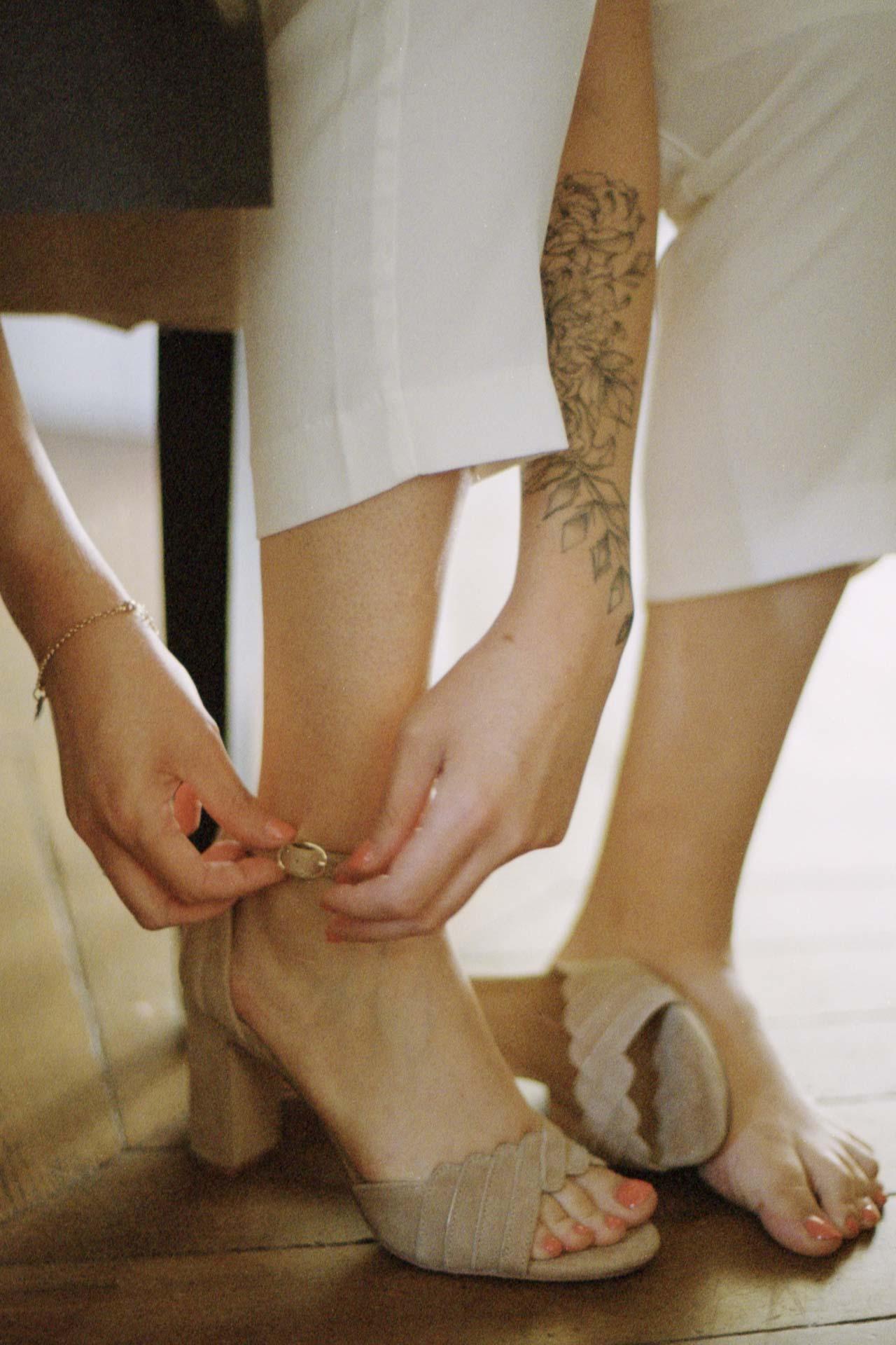 chaussure mariage photographe